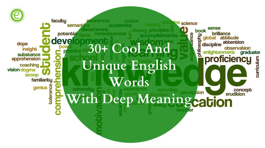 20+ Cool & Unique English Words with Deep Meanings - EnglishBix