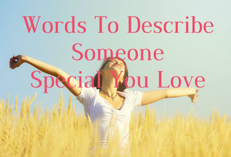 Describe hearted a kind to person words A letter